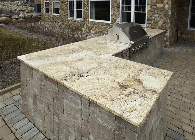 Granite Outdoor Grill