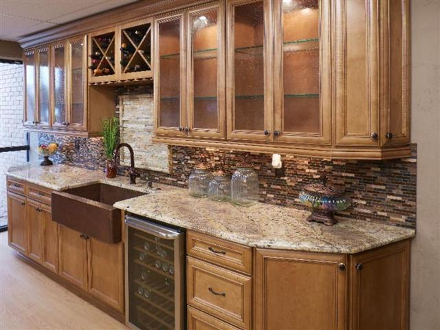 Kitchen - Sienna Bordeaux